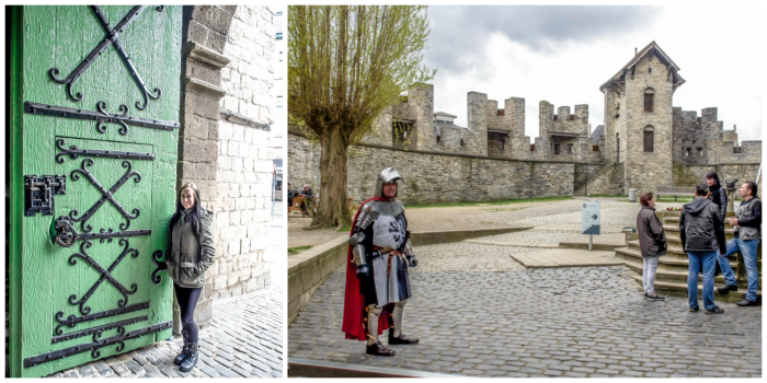 4 days in Belgium | What to see in Ghent | Gent | Gravensteen Castle | Knight
