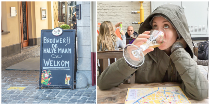 4 days in Belgium | Where to eat and drink in Bruges | Brugge | De Halve Maan Brewery