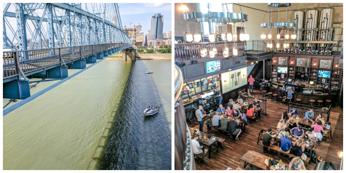 9 Reasons a Long Weekend in Cincinnati, Ohio Should Be Your Next Trip | What to do in Cincinnati | Things to do in Cincinatti | How to spend a weekend in Cincinnati | What to see in Cincinnati, Ohio | Midwest | USA Road trip | 3 days in Cincinnati, Ohio | Roebling Bridge, Taft's Ale House