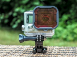 what to pack | photography gear for travelers, gopro polar pro snorkel filter