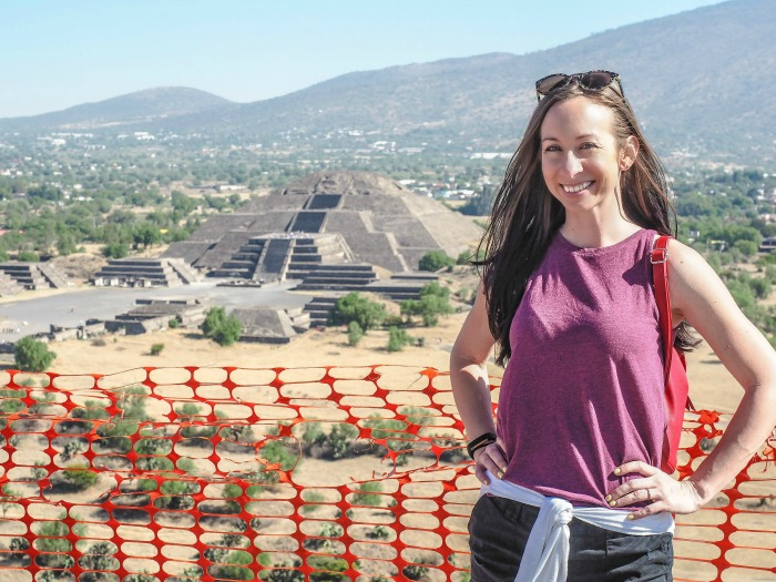 15 essential Mexico City experiences for the best trip ever | Mexico City must-do | Things to do in Mexico City | What to do in Mexico City | CDMX | Mexico DF | Can't-miss Mexico City activities and sights | Mexico City sightseeing | atop the Pyramid of the Sun at Teotihuacan