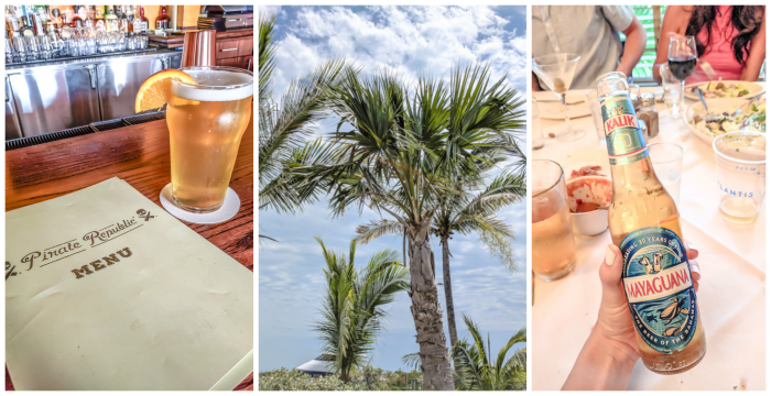 Do This, Not That // 2 Days in The Bahamas | Drinking beer at the Atlantis Resort and Marina Village #thebahamas #bahamas #atlantis #tropical #honeymoon #caribbean #island #paradise