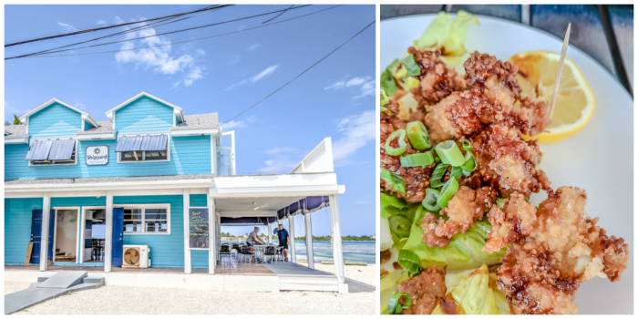 Do This, Not That // 2 Days in The Bahamas | having lunch in paradise at the Shipyard restaurant in Spanish Wells, Harbour Island #thebahamas #bahamas #spanishwells #tropical #honeymoon #caribbean #island #paradise