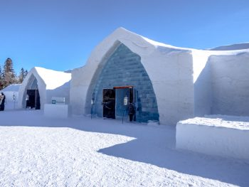 Spending a day at Hotel de Glace, Quebec City, Ice Hotel | Canada | Snow hotel | Ice Bar | Polar Bear suite | Nordic spa | Ice slides | Winter fun |