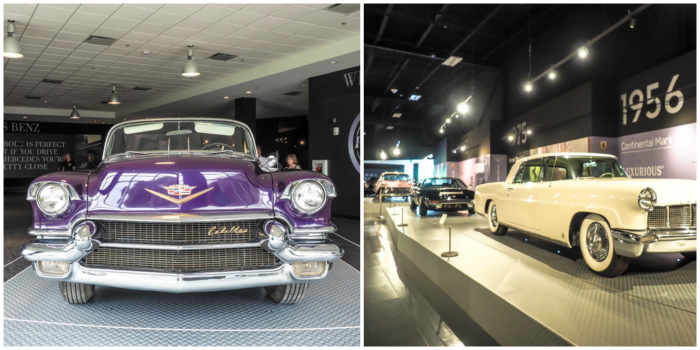 Purple Cadillac | 13 Reasons to Visit Graceland in Memphis, Tennessee even if you're not an Elvis Presley fan #Elvis #Graceland #Memphis #traveltips #purple #cadillac