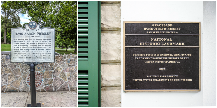 national landmark | 13 Reasons to Visit Graceland in Memphis, Tennessee even if you're not an Elvis Presley fan #Elvis #Graceland #Memphis #traveltips