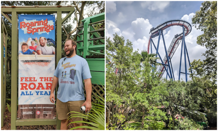 Being a kid at heart at Busch Gardens and ZooTampa // How to use the Tampa Bay CityPASS as a childless adult. #dolphintale #aquarium #tampabay #florida #citypass #traveltips #vacation #tampa #timebudgettravel