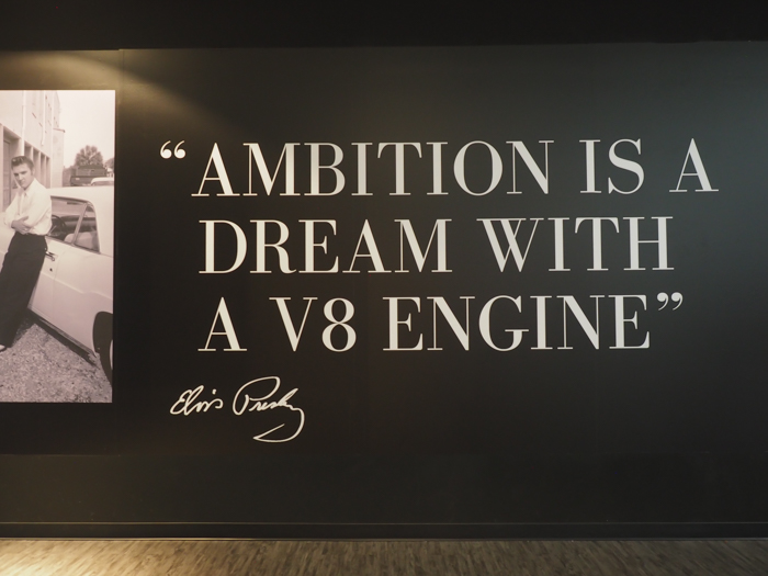 Ambition quote | 13 Reasons to Visit Graceland in Memphis, Tennessee even if you're not an Elvis Presley fan #Elvis #Graceland #Memphis #traveltips #ambition