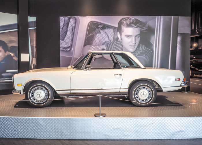 Mercedes Benz | 13 Reasons to Visit Graceland in Memphis, Tennessee even if you're not an Elvis Presley fan #Elvis #Graceland #Memphis #traveltips #mercedes