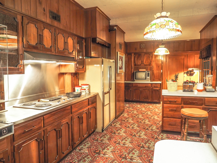 Kitchen | 13 Reasons to Visit Graceland in Memphis, Tennessee even if you're not an Elvis Presley fan #Elvis #Graceland #Memphis #traveltips #kitchen