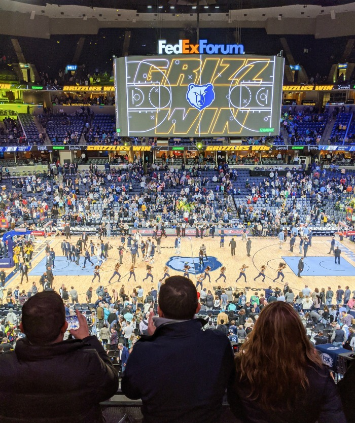 Memphis Grizzlies basketball | 200 things to do in Memphis, Tennessee for first-time visitors - a local's guide #memphis #tennessee #grizzlies #memphisgrizzlies #nba