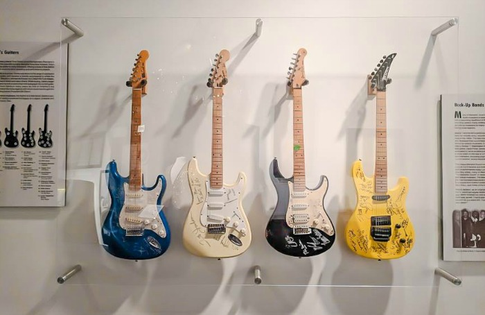 200 things to do in memphis, tennessee for first-time visitors | The Rock 'n' Soul Museum, a local's guide #traveltips #rockandroll #memphis #guitars
