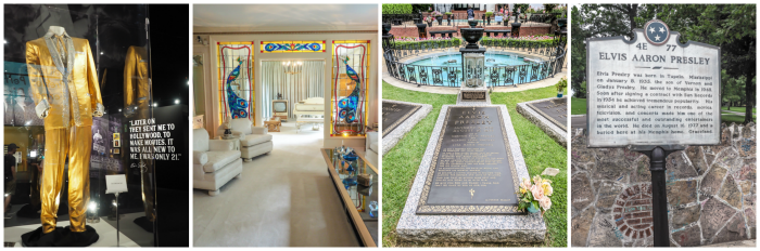 Things to do in Memphis, Tennessee | A visit to Elvis Presley's Graceland is a must. #traveltips #graceland #memphis