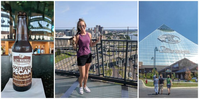 200 things to do in memphis, tennessee for first-time visitors, a local's guide | lookout at the bass pro pyramid #traveltips #memphis #view #pyramid