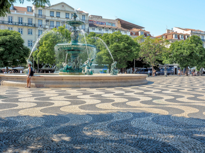 A First-Timer's Guide to Spending 3 Days in Lisbon, Portugal | What to do in Lisbon, what to see in Lisbon | UNESCO World Heritage Sites, museums, where to eat in Lisbon | How to spend 3 days in Lisbon | Rossio Square #traveltips #lisbon #portugal #rossio