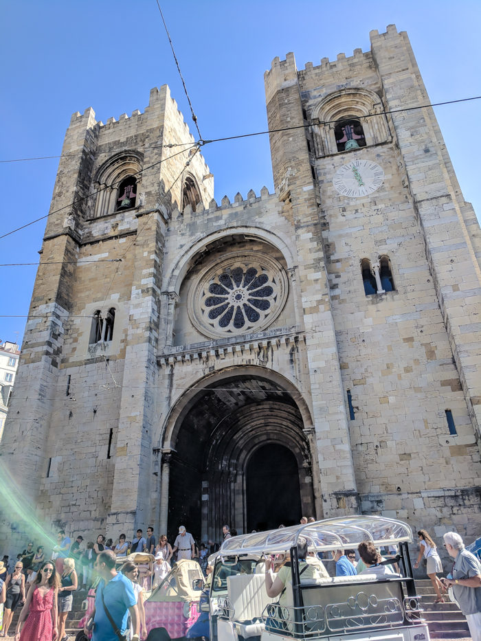 A First-Timer's Guide to Spending 3 Days in Lisbon, Portugal | What to do in Lisbon, what to see in Lisbon | UNESCO World Heritage Sites, museums, where to eat in Lisbon | How to spend 3 days in Lisbon | Se Cathedral #traveltips #lisbon #portugal #timebudgettravel #cathedral
