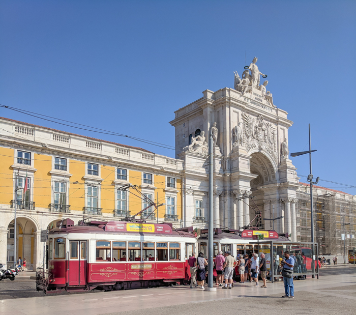 A First-Timer's Guide to Spending 3 Days in Lisbon, Portugal | What to do in Lisbon, what to see in Lisbon | UNESCO World Heritage Sites, museums, where to eat in Lisbon | How to spend 3 days in Lisbon | Praça do Comércio #traveltips #lisbon #portugal #timebudgettravel #tram
