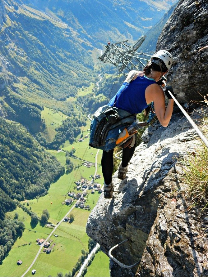 Yes, You Need Travel Insurance. And Here's Why. | World Nomads travel insurance | horror stories and anecdotes | travel tips and safety #traveltips #travelinsurance #worldnomads | Via ferrata in Switzerland