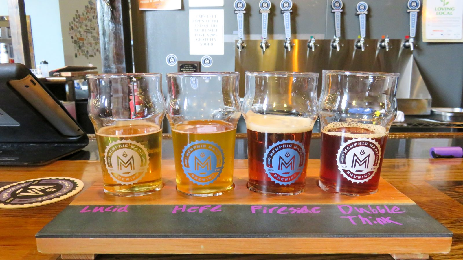 Cheers for Beers! An Offbeat Cheat Sheet to Memphis Craft Breweries   Bosco's in Overton Square   Ghost River Brewing   Memphis Made   Wiseacre   High Cotton   Midtown and Downtown Memphis, Tennessee   Craft beer taprooms   Brewery tours