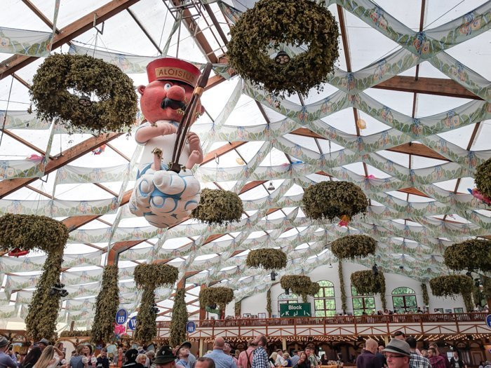 An Oktoberfest Tour Guide's Most Frequently Asked Oktoberfest Questions   Need to know Oktoberfest in Munich, Germany #oktoberfest #munich #germany #beer #festival   Aloisius, Hofbrau tent