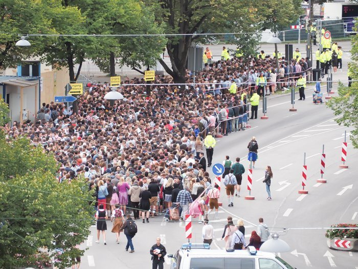 An Oktoberfest Tour Guide's Most Frequently Asked Oktoberfest Questions   Need to know Oktoberfest in Munich, Germany #oktoberfest #munich #germany #beer #festival   view from Hotel Senator