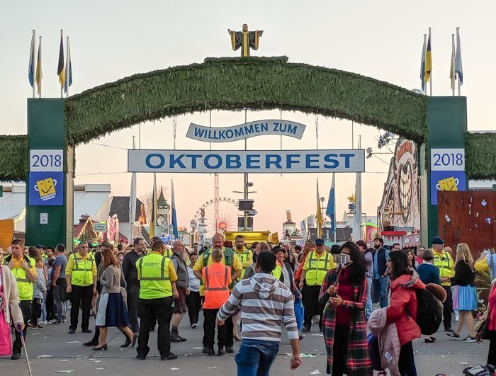 An Oktoberfest Tour Guide's Most Frequently Asked Oktoberfest Questions | Need to know Oktoberfest in Munich, Germany #oktoberfest #munich #germany #beer #festival | Entrance
