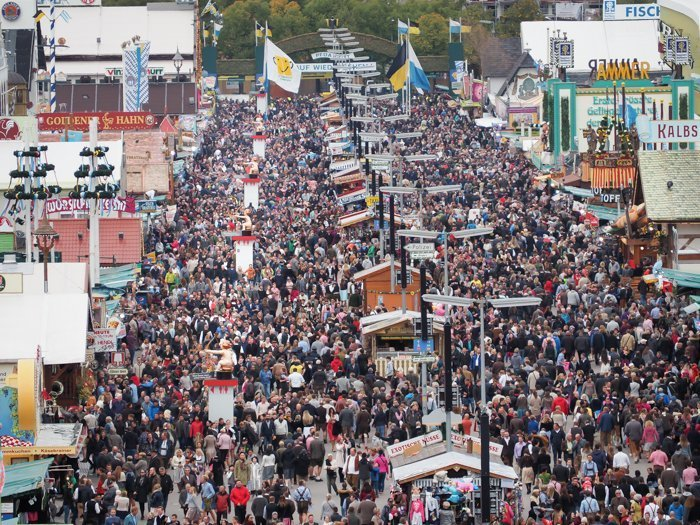 An Oktoberfest Tour Guide's Most Frequently Asked Oktoberfest Questions   Need to know Oktoberfest in Munich, Germany #oktoberfest #munich #germany #beer #festival   Wiesn bathroom cupids