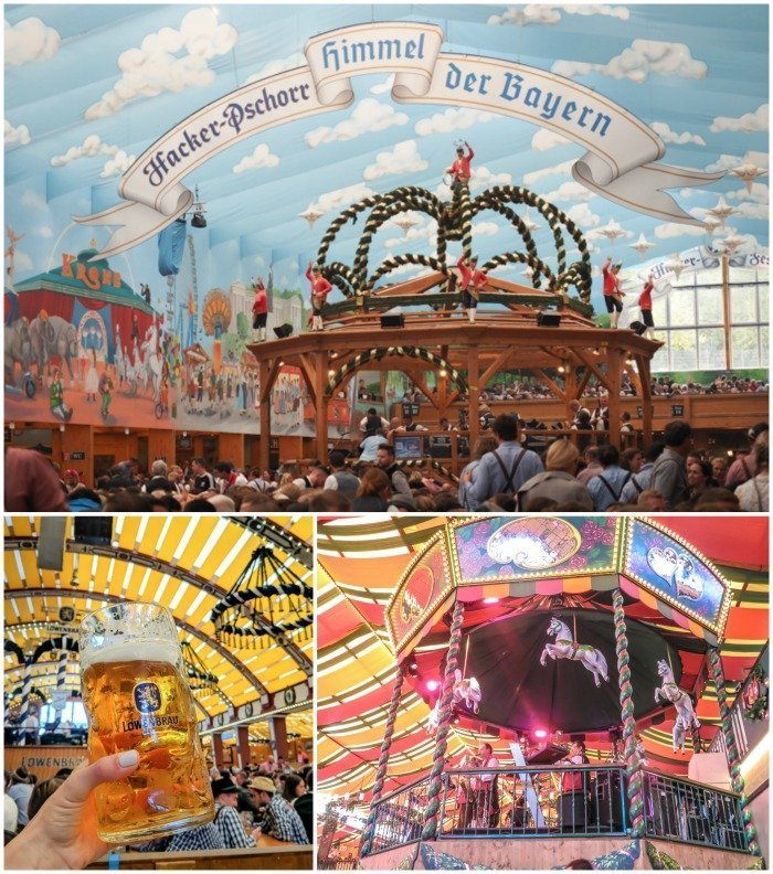 An Oktoberfest Tour Guide's Most Frequently Asked Oktoberfest Questions   Need to know Oktoberfest in Munich, Germany #oktoberfest #munich #germany #beer #festival   Beer tents and decorations