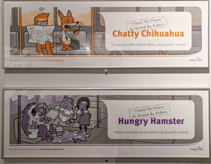 Etiquette posters at Brooklyn's New York Transit Museum // Underground and Underrated | The best New York City museum you've never heard of | New York City hidden gem | #NewYorkCity #museum #transitmuseum #brooklyn #nycmuseum #traveltip #timebudgettravel