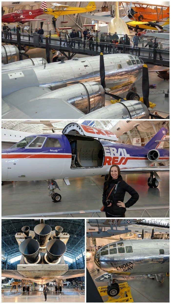 Smithsonian National Air & Space Museum, Udvar-Hazy Center | Enola Gay, FedEx, Concordea | A Jam-Packed 3 Days in Washington DC Itinerary for First Time Visitors | #washingtondc #timebudgettravel #USA