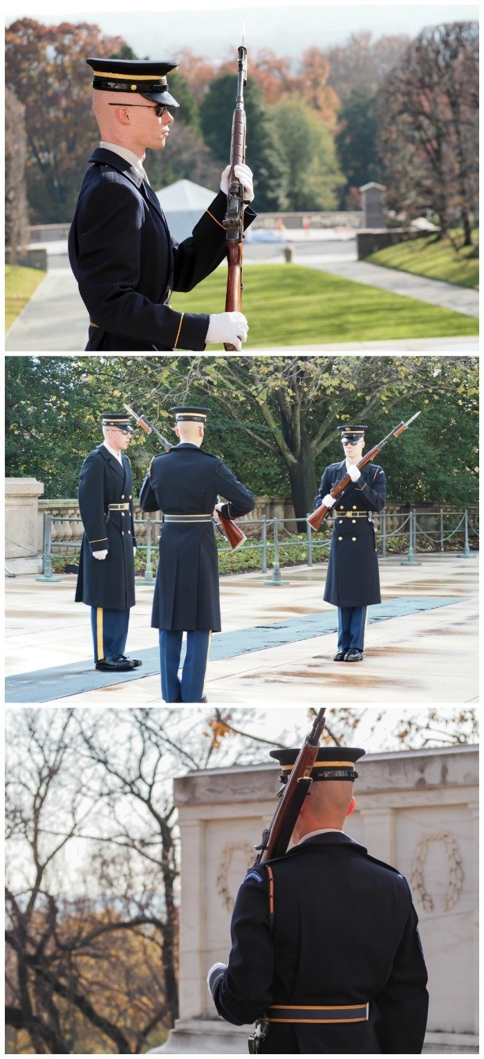 Arlington National Cemetery / Changing of the Guard ceremony at the Tomb of the Unknown Soldier | A Jam-Packed 3 Days in Washington DC Itinerary for First Time Visitors | #washingtondc #timebudgettravel #USA
