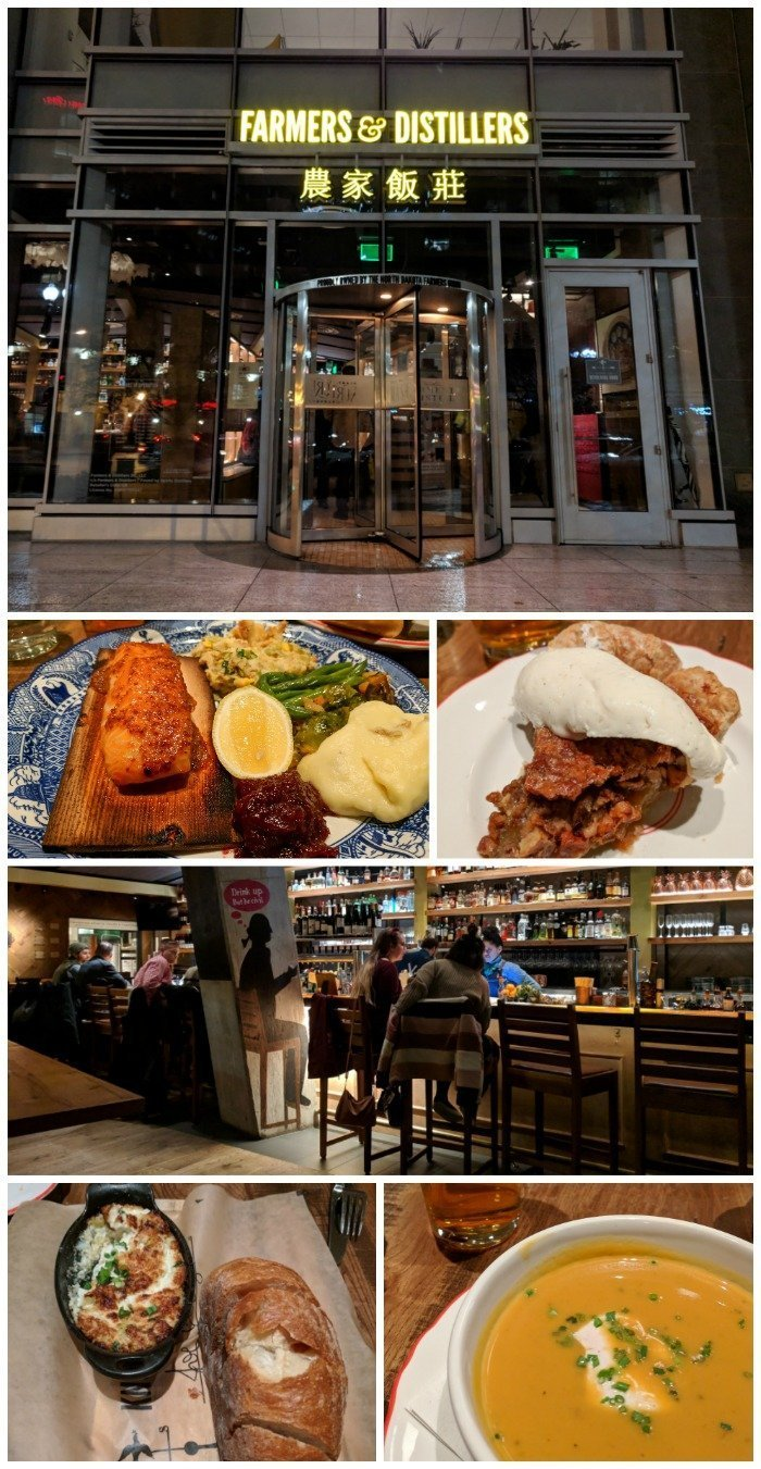 Dinner at Farmers & Distillers | A Jam-Packed 3 Days in Washington DC Itinerary for First Time Visitors | #washingtondc #timebudgettravel #USA