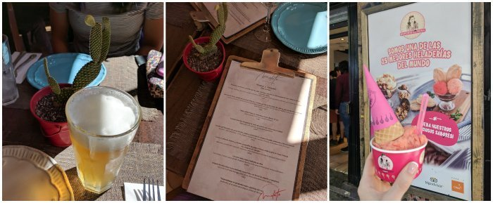 How to Spend One Week in Chile and Cover All the Bases   Santiago and the Lastarria neighborhood, lunch at Mulato and ice cream at Heladeria Emporio la Rosa #santiago #chile #emporiolarosa #barriolastarria #icecream