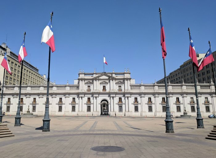 How to Spend One Week in Chile and Cover All the Bases | Santiago and La Moneda Palace, home of the President of Chile #santiago #chile #lamonedapalace #president