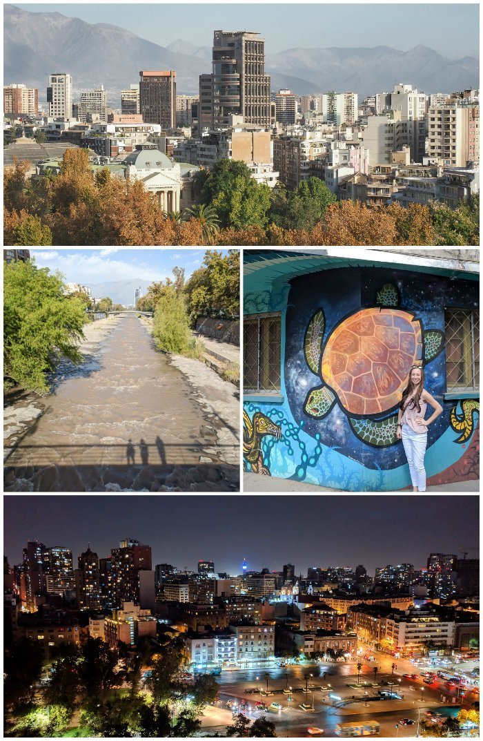 How to Spend One Week in Chile and Cover All the Bases   Santiago and amazing city views   street art in Chile   #santiago #chile #views #streetart