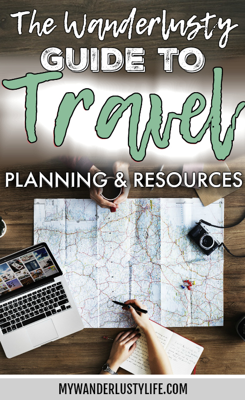 all of my favorite travel planning resources in one place | Tips for finding flights, airport sanity, packing tips, how to book accommodation, how to plan trips, and more. #traveltips #travelplanning #travel