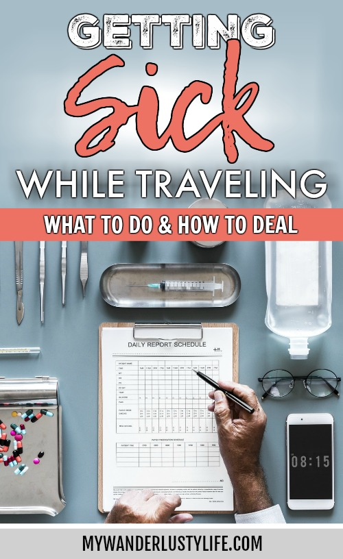 Getting Sick While Traveling Abroad // What to Do and How to Deal   Travel insurance, prepare for getting sick abroad, when to see a doctor, emergency room experience, medicine and medical care abroad, and more. #sickabroad #traveltips #travelguide #healthytravel #healthtips #travelinsurance