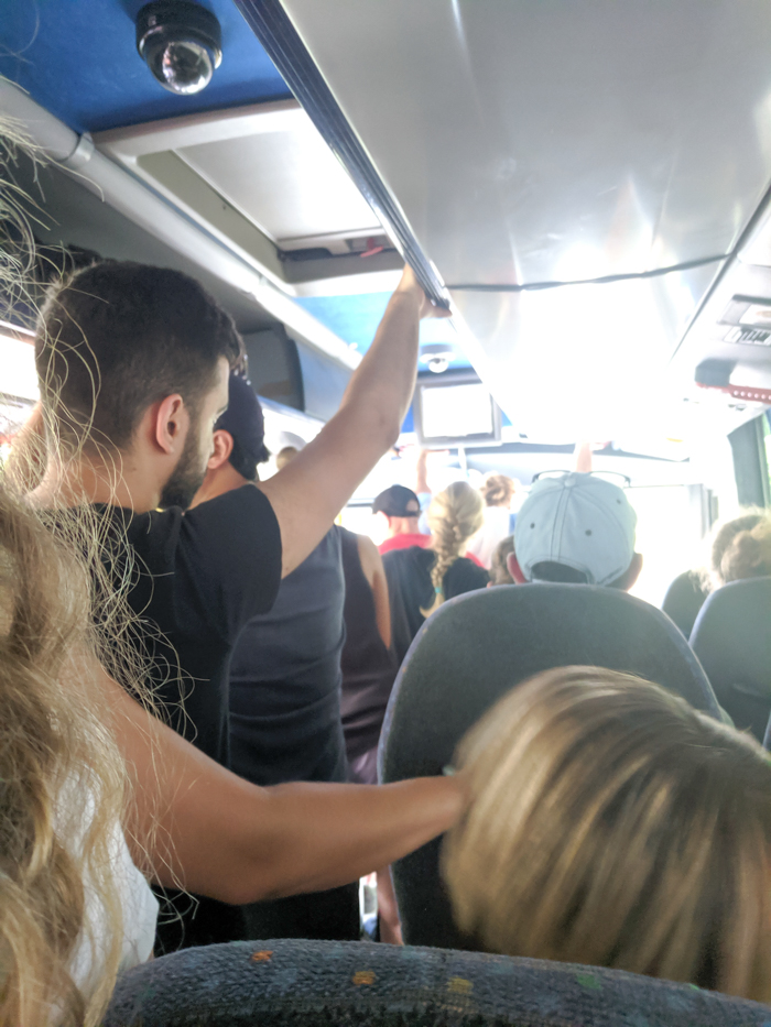 Riding the SITA bus along the Amalfi Coast | Hiking the Path of the Gods from Sorrento, Italy on the Amalfi Coast | #pathofthegods #sorrento #amalficoast #hiking #italy
