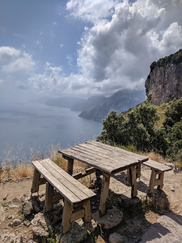 Hiking the Path of the Gods from Sorrento, Italy on the Amalfi Coast | Amazing views from the hike #pathofthegods #sorrento #amalficoast #hiking #italy