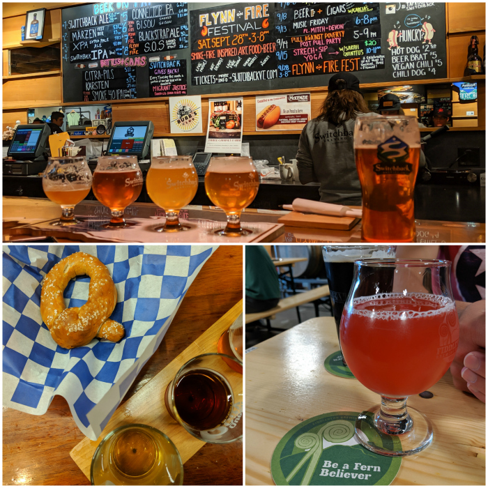 Switchback brewery, queen city brewery, fiddlehead brewery   11 Ways to Fill Your Days During a Weekend in Vermont   #vermont #burlington #newengland #craftbeer