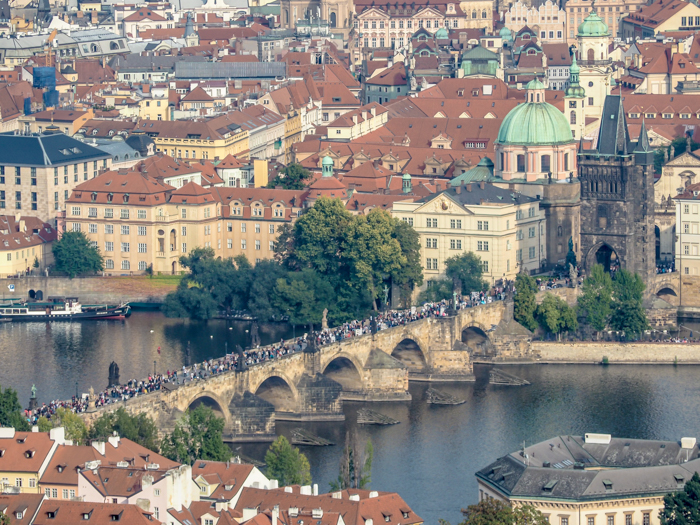 Walk across the Charles Bridge   Cool Prague Experiences   Czech Republic / Czechia   What to do in Prague, best prague things to see and do