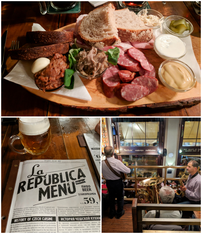 La Republica Restaurant for traditional Czech food   Cool Prague Experiences   Czech Republic / Czechia   Where to eat and drink in Prague, Prague travel tips