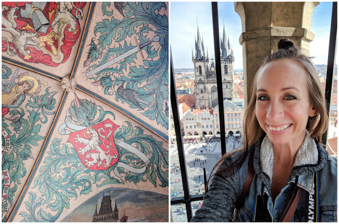 Red rooftops and towers, views from the Old Town Hall Tower   Cool Prague Experiences   Czech Republic / Czechia   What to do in Prague, best prague things to see and do