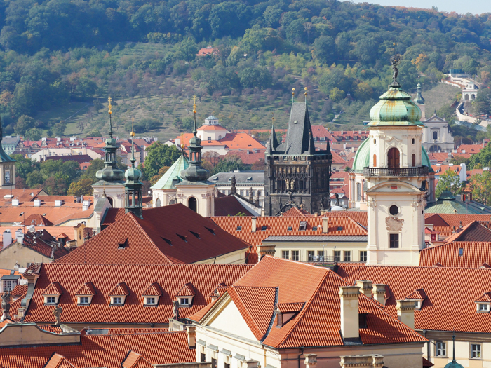 Red rooftops and towers   Cool Prague Experiences   Czech Republic / Czechia   What to do in Prague, best prague things to see and do