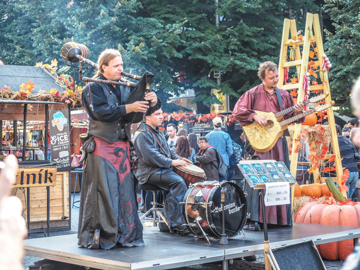 St Wenceslas fall market in Wenceslas Square   Cool Prague Experiences   Czech Republic / Czechia   What to do in Prague, best prague things to see and do