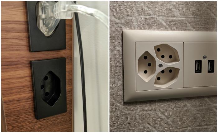 Power outlets in Switzerland and Liechtenstein