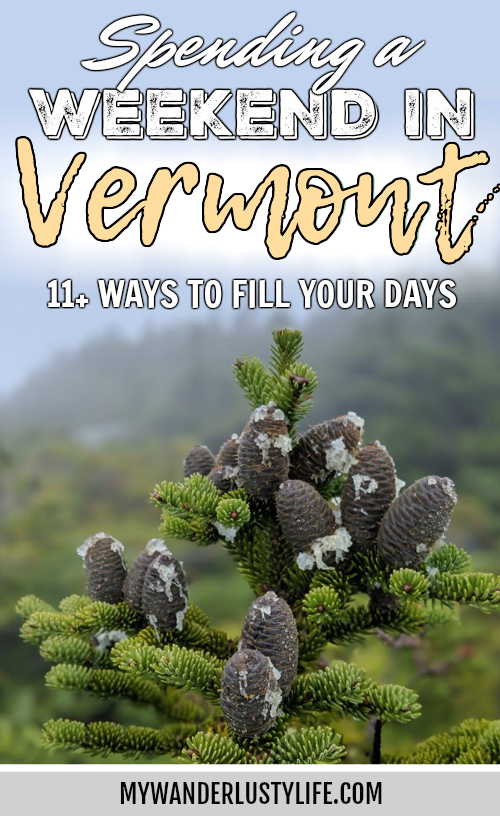 11 Ways to Fill Your Days During a Weekend in Vermont   Craft beer, farmers market, bed and breakfast hiking in the mountains, von trapp family lodge, shopping, history, etc. #vermont #newengland #fall #autumn