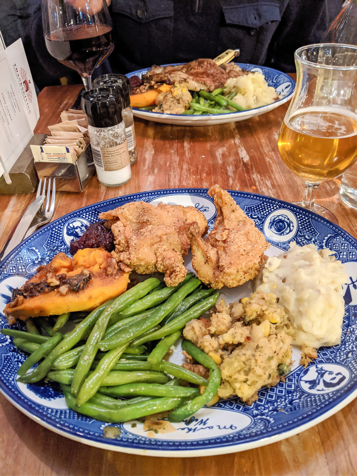 Thanksgiving dinner at Founding Farmers | Another long weekend in Washington, D.C.