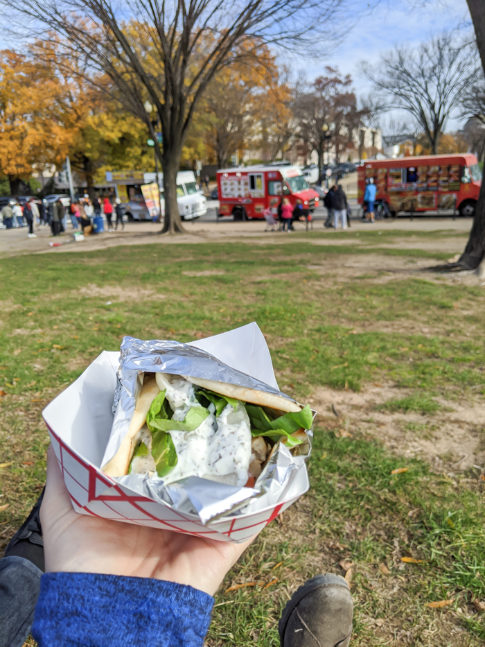 Food trucks for lunch, National Mall | Another long weekend in Washington, D.C.