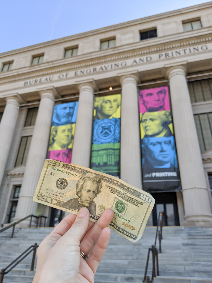 Bureau of Engraving and Printing, money factory | Another long weekend in Washington, D.C.